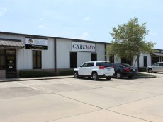 Commercial office/warehouse building for medical and fire safety businesses