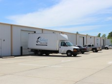 Commercial warehouse building for medical supply business