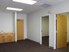 Office/warehouse space interior