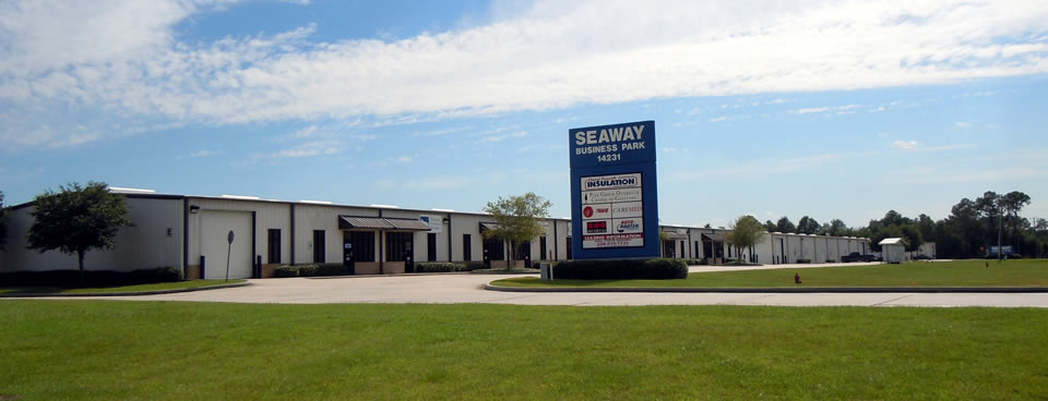 Seaway Business Park in Gulfport, Mississippi.