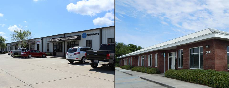 Office Space & Warehouse Space in Gulfport, MS