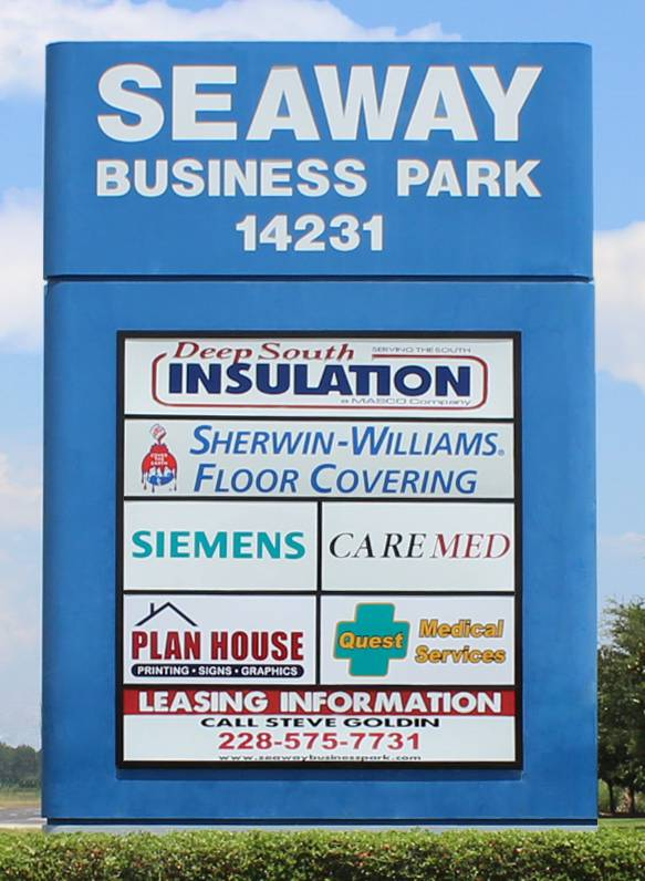 Seaway Business Park at 14231 Seaway Road in Gulfport, Mississippi