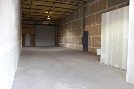 Warehouse space for rent with high ceilings