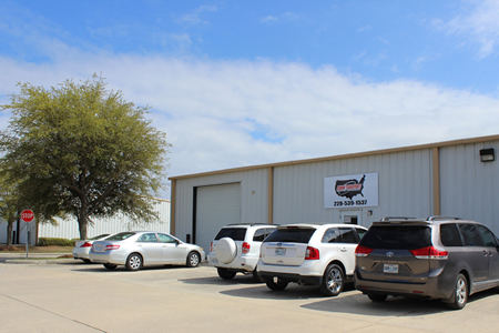 Warehouse space in Gulfport, Mississippi in Seaway Business Park