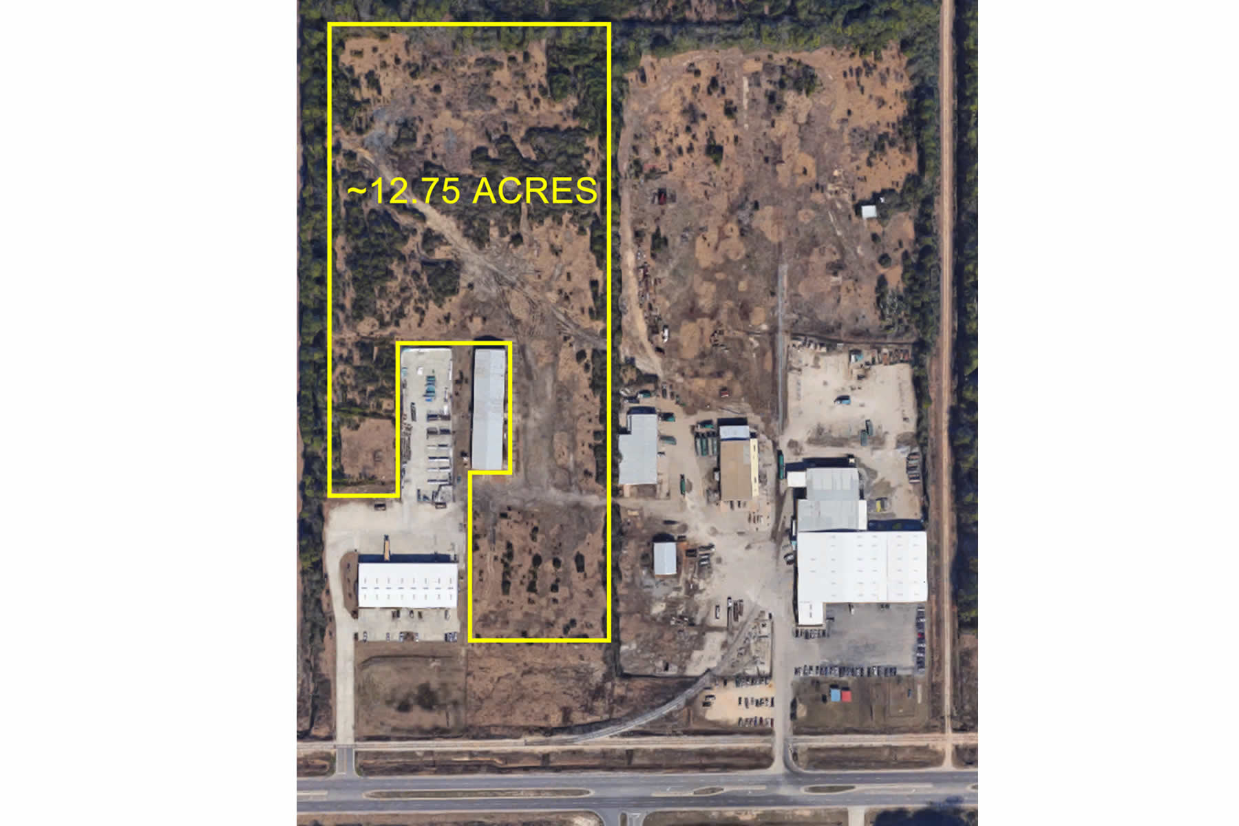 Warehouse building and warehouse/showroom building development opportunities in Gulfport, MS