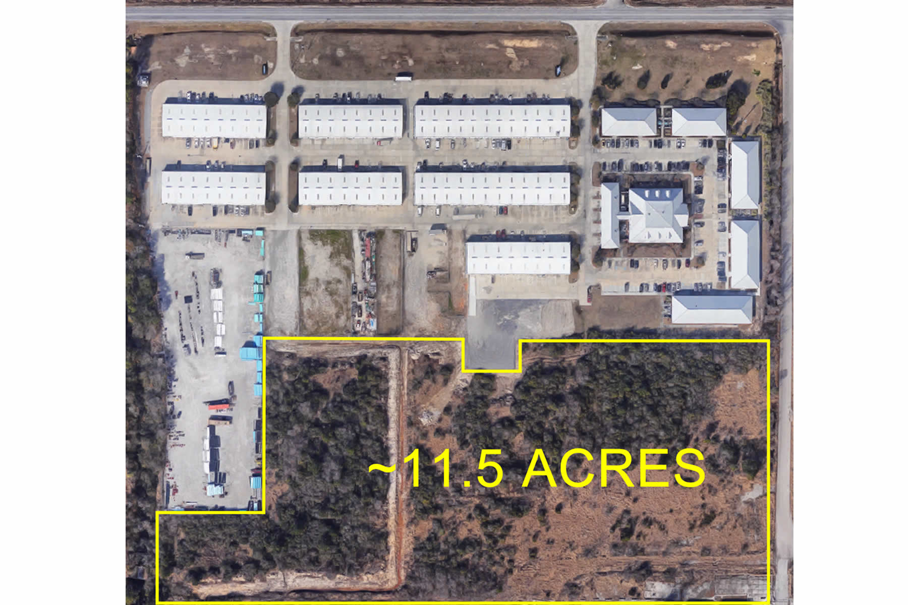 Office building and warehouse building development opportunities in Gulfport, MS